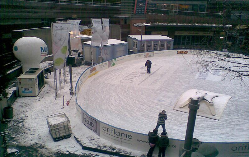Sztuczne lodowisko